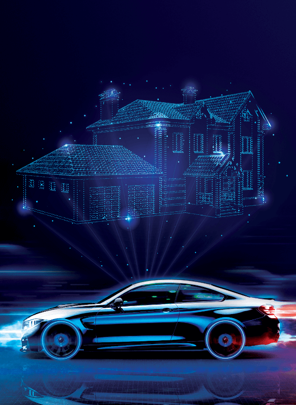 Intelligent Home to in-vehicle solutions