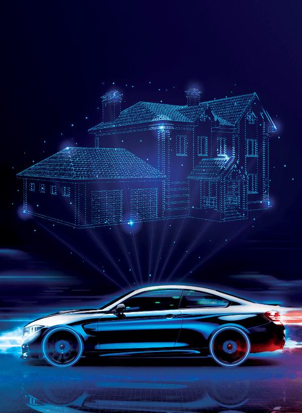 Soluciones inteligentes casa a vehículo