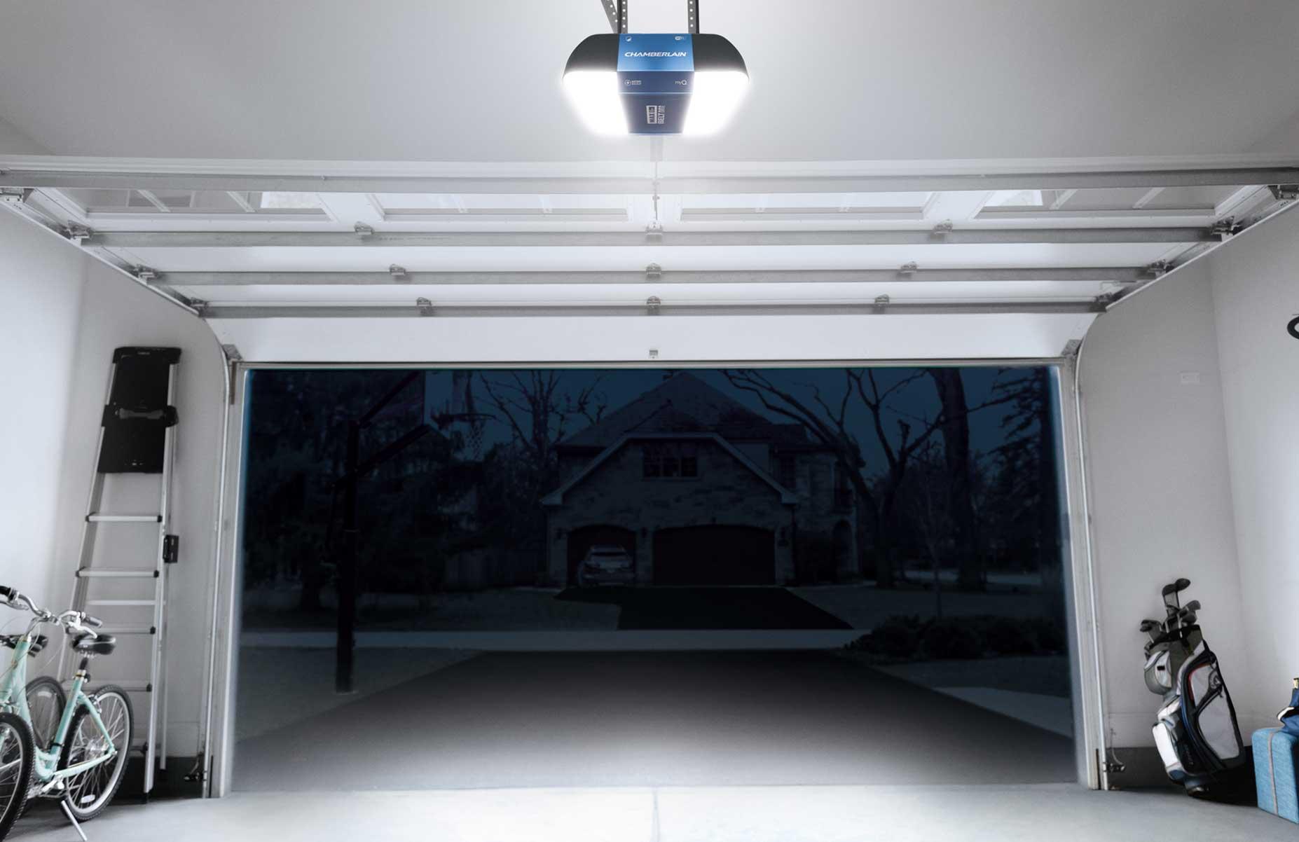 B1381 Smart Garage Door Opener With Lights Chamberlain